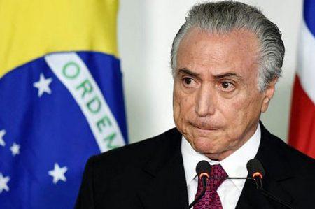Diario O Globo de Brasil pide la renuncia del presidente Michel Temer