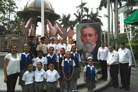 Recuerdan en Tampico aniversario de Venustiano Carranza