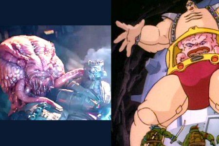 Finalmente Krang hace su aparición para las Tortugas Ninja