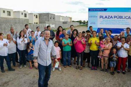 Canturosas pone en marcha más obras en Nuevo Laredo