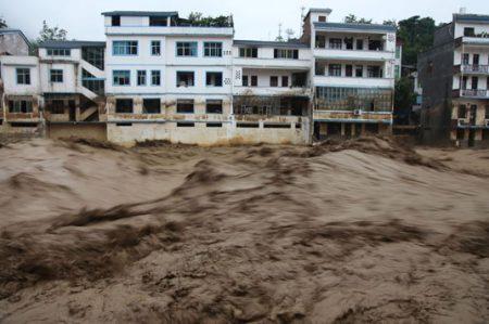 Inundaciones y deslizamientos en sur de China dejan 13 muertos