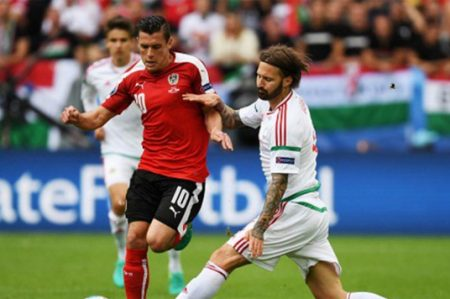Hungría supera 2-0 a Austria en estreno del grupo F en Eurocopa 2016