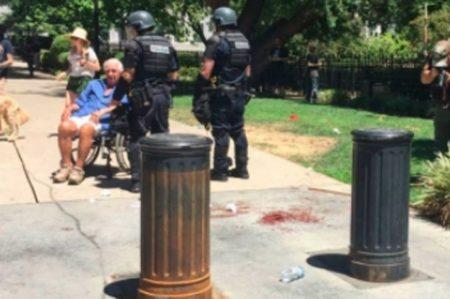 Varias personas apuñaladas durante manifestación en California