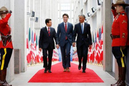 Inicia Octava Cumbre de Líderes de América del Norte en Ottawa