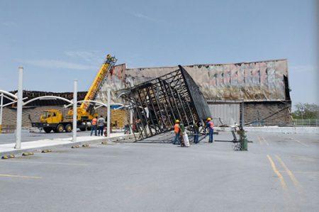 Inicia la reconstrucción de Wal Mart en Reynosa