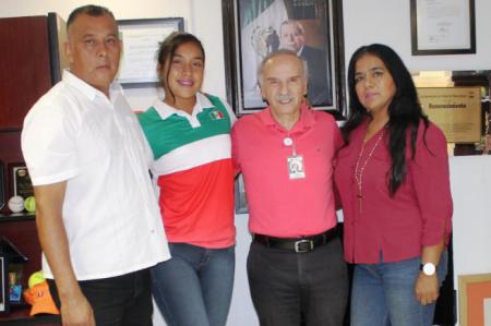 Va tamaulipeca a Continental de voleibol con selección mexicana
