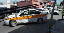 Accidente vial manda al hospital a dos mujeres