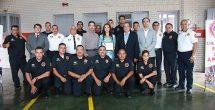 Entrega diputada rehabilitación de estación de bomberos