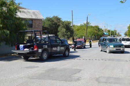 Aumentan operativos de revisión a automovilistas en la frontera