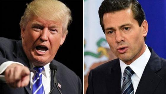 'Chocan' Trump y Fox por visita a México