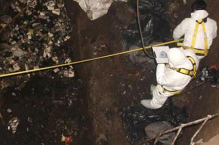 Exigen poner 'nombre y apellido' a restos hallados en Huehuetoca