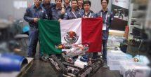 Mexicanos ganan 1er lugar RoboCup 2016