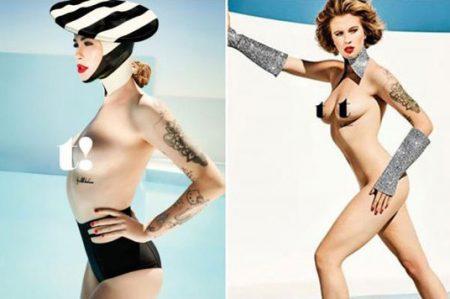 Hija de Alec Baldwin y Kim Basinger posa desnuda