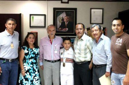 Niño tamaulipeco obtiene medalla de oro en Olimpiada Nacional 2016