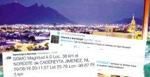 Tiembla en Monterrey; se sintió en San Pedro y San Nicolás