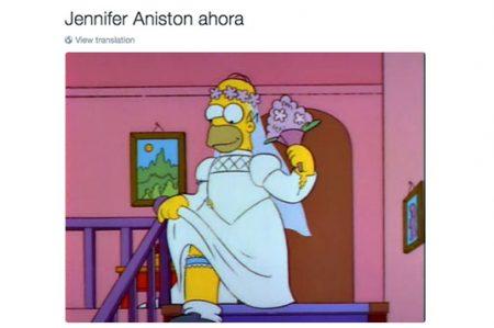 'Memes' de Jennifer Aniston surgen por divorcio de Brad Pitt