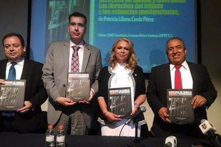 Presentan  libro sobre los derechos de los niños en las Penitenciarias