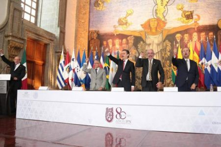 Celebran 80 aniversario de la fundación del IPN