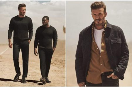 David Beckham y Kevin Hart, en nueva colección de H&M