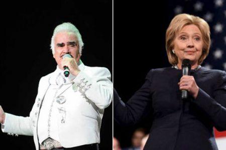 En media hora adaptaron canción de Chente para Hillary