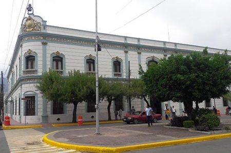 Dispositivo de seguridad en toma de protesta de Óscar Almaraz