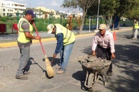 Implementan programa de bacheo en vialidades de la ciudad