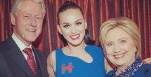 Katy Perry se desnuda por un voto