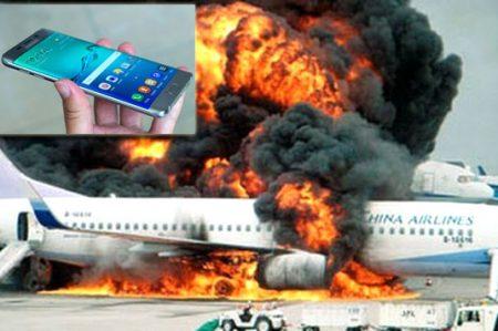 Queda prohibido usar el 'Galaxy Note 7' en aviones; podrían explotar
