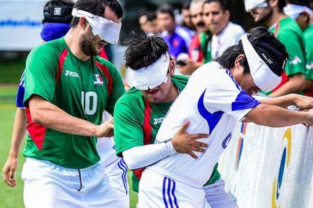 México, séptimo en futbol a 5 en Paralímpicos