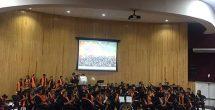 Rotarios entregan instrumentos musicales a IRCA