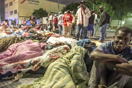 En México, 4 mil haitianos y africanos de paso a EU