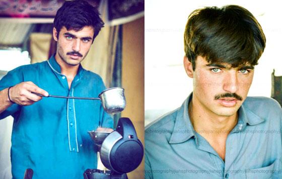 De vendedor de té en Pakistán a modelo de ropa — Facebook