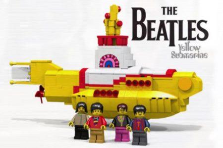 Lego lanza 'Yellow Submarine' de The Beatles