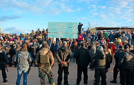 Concluye bloqueo en mina Peñasquito; reanudan operaciones