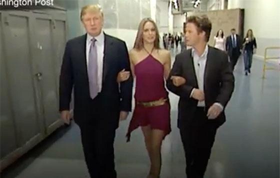 Escándalo por un video de Trump hablando mal de las mujeres