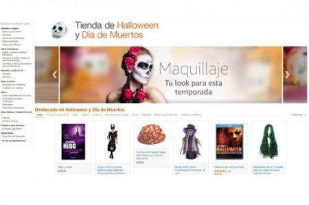 Amazon abre tienda especial para Halloween y Día de Muertos