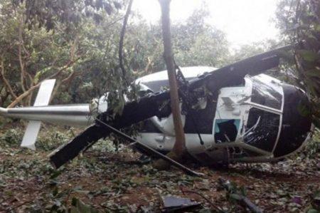 Se desploma helicóptero de la SEDENA en Ciudad Victoria