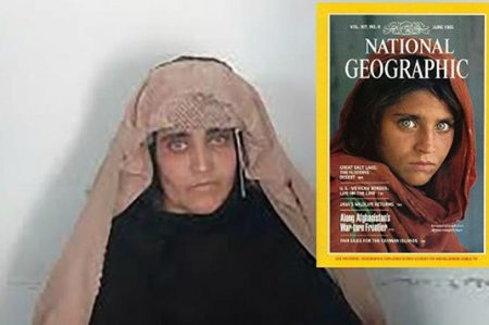 Famosa niña afgana de 'National Geographic' es detenida en Pakistán