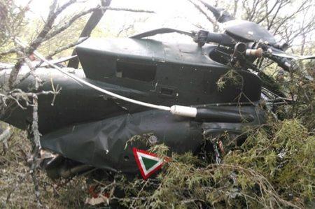 Mueren dos en desplome de helicóptero de Sedena