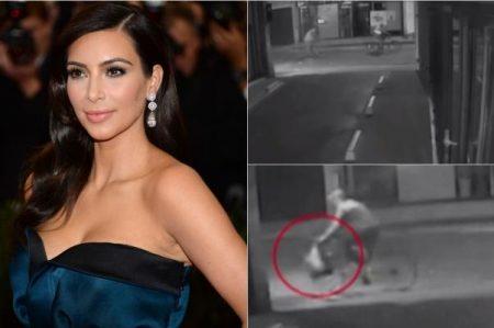 Difunden video de asalto a Kim Kardashian