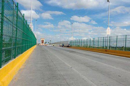 Puente Reynosa–Hidalgo desierto en 'Viernes Negro'