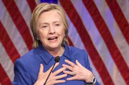 Hillary Clinton reaparece tras derrota electoral