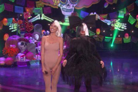 DeGeneres y Klum se disfrazan de Sia y Maddie Ziegler
