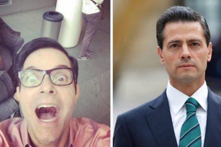 Peña Nieto felicita a Horacio Villalobos por su cumpleaños