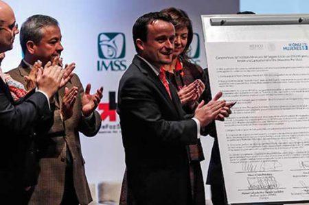 IMSS se adhiere a campaña internacional 'He For She'