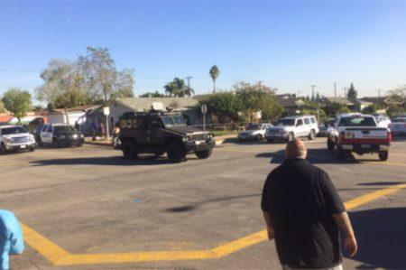 Reportan tiroteo en colegio electoral de California (VIDEO)