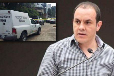 Hallan restos humanos en Cuernavaca con mensajes para 'Cuau'