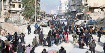 La ONU supervisará desalojos desde Aleppo