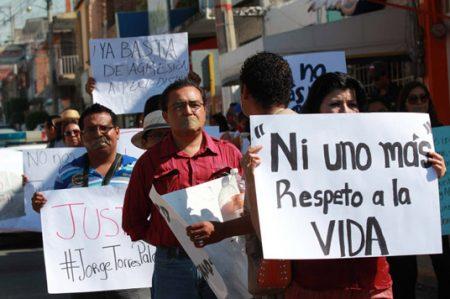 Piden justicia en Nuevo León para periodistas asesinados