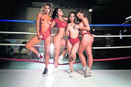 ¡Calientan la lona! 'Chicas del ring'